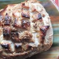 Pieczona szynka z cytrynowej marynaty