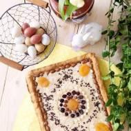 Mazurek kajmakowy (z domowym kajmakiem)