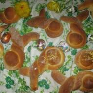 Drożdżowe zajączki