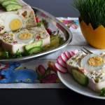 Wielkanocna terrina z jajkiem na twardo