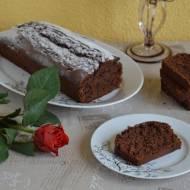 Babka czekoladowa z powidłami śliwkowymi