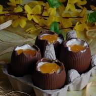 Czekoladowe jajka niespodzianki