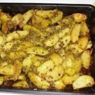 pyszne ziemniaki z piekarnika...