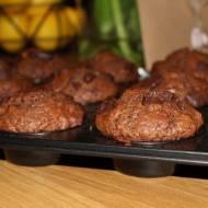 Muffinki czekoladowo-ciasteczkowe