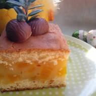Brzoskwiniowe ciasto Agnieszki