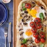 Pizza śniadaniowa - Pizza z jajkiem