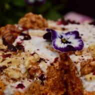 ciasto marchewkowe z nutą kokosa (raw)