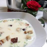 Wzmacniająca zupa czosnkowa