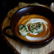 Zupa krem z pieczonych batatów i marchewki