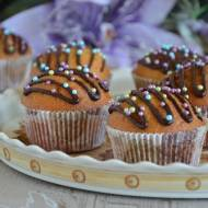 Muffinki jogurtowe z orzechami piniowymi