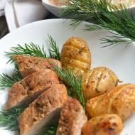 Polędwiczka wieprzowa pieczona z młodymi ziemniakami