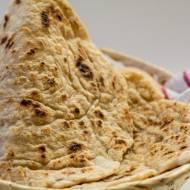 Indyjski chlebek naan paleo, bez glutenu i ziaren.