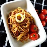 Makaron z Tuńczykiem i Pomidorowym Pesto