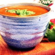 Zupa krem pomidorowa o smaku curry