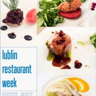 Lublin Restaurant Week - tasting menu w Hotelu Agit