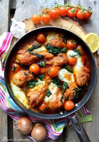 Kurczak po włosku - przepis.