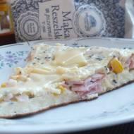 Pożywny omlet z czarnuszką