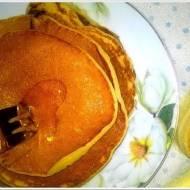 Placuszki bananowo miodowe. Idealne placuszki na śniadanie.