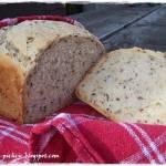 Chleb wieloziarnisty na maślance z automatu