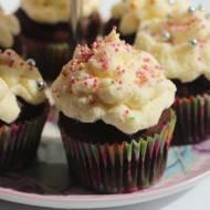 Czekoladowe muffiny z mascarpone