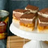 Podwójnie musowe, czekoladowe ciasto z galaretką