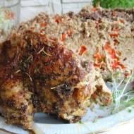 Kaczka faszerowana mięsem mielonym