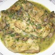 szybkowar-uda kurczaka w sosie pieczarkowo-porowo-pietruszkowym...