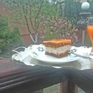 ciasto marchwiowe z kremem
