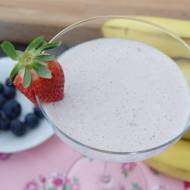 Koktajl mleczny z owocami