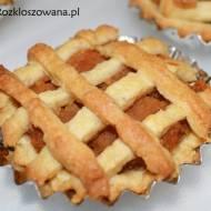 Mini jabłeczniki – kruche babeczki z jabłkami