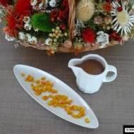 Skórka pomarańczowa w anyżowej czekoladzie