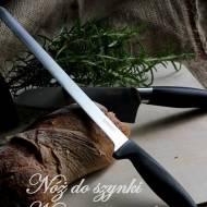 Dwa noże od Fiskars - typ azjatycki oraz do szynki/łososia