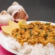 Pierś z kurczaka w curry z masłem orzechowym