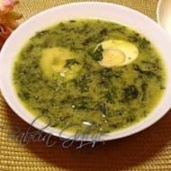 Zupa z Pokrzywą i Szpinakiem