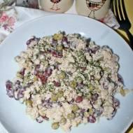 Sałatka ekspresowa - z tuńczykiem i makaronem