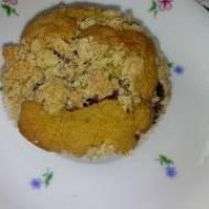 Muffinki bezglutenowe z jagodami