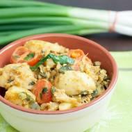 Aloo gobi, czyli ziemniaki z kalafiorem po indyjsku