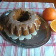 babka pomarańczowa z lukrem