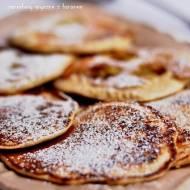 Pancakes bezglutenowe z mąki gryczanej i bananem
