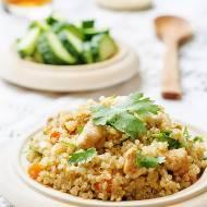 Pilaf z quinoa i kurczaka