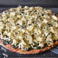 Razowy spód do pizzy