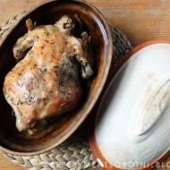 kurczak pieczony z rzymskim garnku