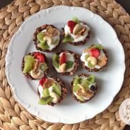 Owsiane, dietetyczne tartaletki z owocami