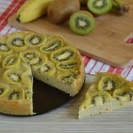 Ciasto jaglane z kiwi