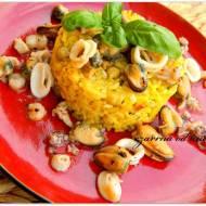 Hiszpańska paella z owocami morza