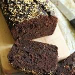 Ciasto czekoladowo-bananowe Fit (wegańskie, bez glutenu, laktozy i cukru)