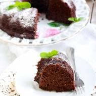 Babka czekoladowa o smaku miętowym
