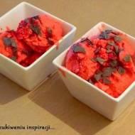 Lody truskawkowe na jogurcie