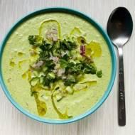 Chłodnik ogórkowy, czyli zupa ze świeżych ogórków