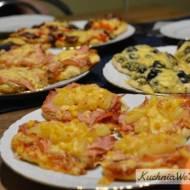 Mini pizza w4 smakach